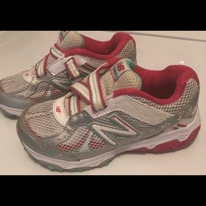 New balance girls tennis shoes